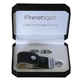 Флешка PRESTIGIO Leather Flash Drive NAND Flash Black 16Gb (PLDF16GBSIBLACK)