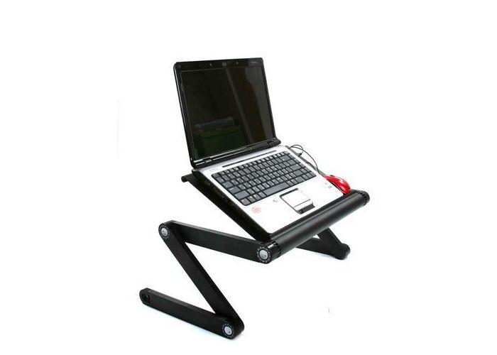 Подробнее о товаре Подставка Нео для планшета в авто и для дома.  Складной столик для ноутбука.