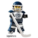 Lego Minifigures 8804-8 Series 4 Hockey Player (Хоккеист) 2011