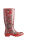 Hunter Резиновые сапоги Hunter Original Gardina Tall red