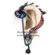 His Masters Voice Ear-Trumpet Stud