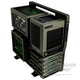 Case Tt Level 10 GT Battle Edition  WIN  DARK-GREEN  NO PSU [VN10008W2N]