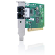 Allied Telesis 32 bit 100Mbps Fast Ethernet Fiber Adapter Card; SC connector; includes both standard and low profile brackets; Single pack p/n: AT-2701FXa/SC-001