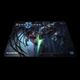Коврик для мыши Steelseries QcK StarCraft II Kerrigan vs Zeratul (63301)
