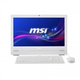 "Моноблок MSI AP2021/MS-AA72/White/20"" (1600x900) Multi-MattIntel HD/Intel Core i3-3220/4GB/500GB 7200rpm/DVD-RW/WiFiUSB kbd+mouse/W7P (AP2021-001RU)"