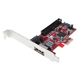 контроллер PCI-E SATA II 2-int. ports, 1-ext port eSATA II, 1-int port ATA133, RAID 0/1, ORIENT J363SIR