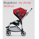 Bugaboo Bee Plus by Andy Warhol коляска прогулочная
